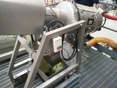 Santrifüj ayırıcılar ile pektin prosesi